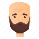 baby, bearded, family, man, woman, wrinkles