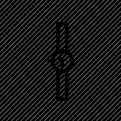 analog, clock, quartz, watch, wirst icon
