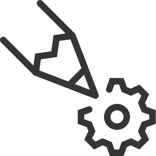 cog, edit, gear, pencil, wheel, write icon