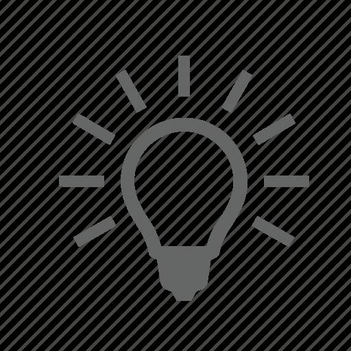 bulb, concept, creative, electric, idea, invent, light icon