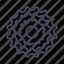 bicycle, bike, cassette, drivetrain, gear