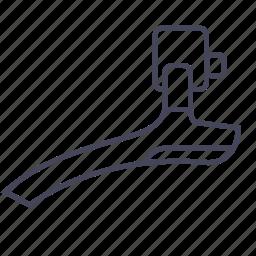 bicycle, bike, derailleur, front derailleur, schift icon