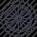 bicycle, front wheel, mountain bike, wheel
