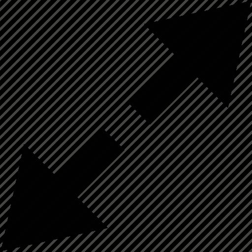 arrow, editing, enlarge, wsd icon