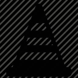 cone, construction, editing, wsd icon