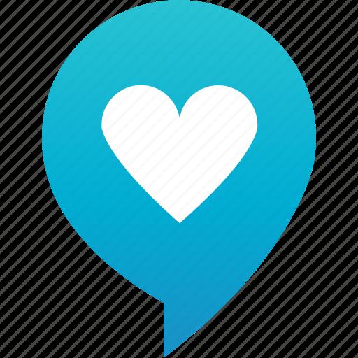 flirt, heart, love, marker, pin, rande, valentine icon
