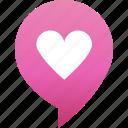 flirt, heart, love, marker, pin, rande, valentine