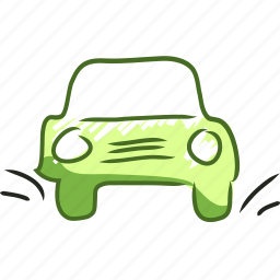 auto, car, handdraw, traffic, transport, travel, vehicle icon