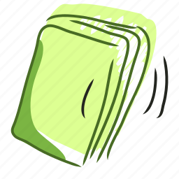 book, diary, document, handdraw, journal, newspaper, notebook icon