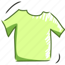 clothes, dress, fashion, handdraw, outfit, shirt, tshirt icon