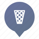 bin, garbage, markers, trash, waste, wastepaper basket, wsd icon