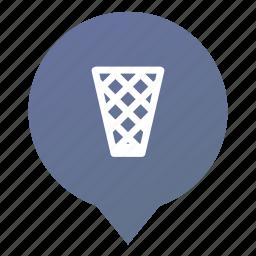 bin, garbage, markers, trash, waste, wastepaper basket, wsd icon