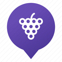 food, fruit, grape, markers, vine, vineyard, wsd icon