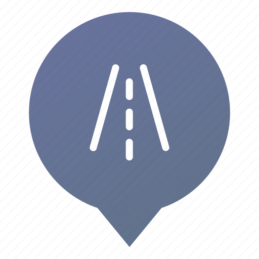 highway, markers, road, street, traffic, transport, wsd icon