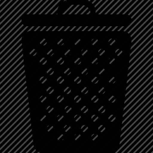 navigation, trash, wsd icon