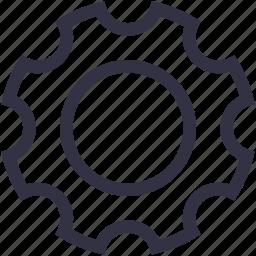 change, gear, mechanic, options, part, portal, setup icon