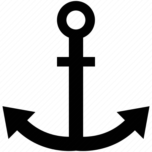 anchor, boat, ship, transport, transportation, wsd icon