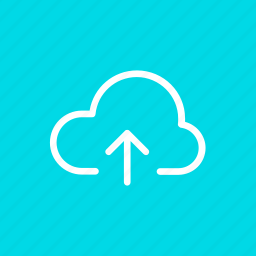 cloud, data, storage, up, upload, win, wsd icon