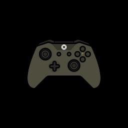battlefield, gamer, xbox one icon