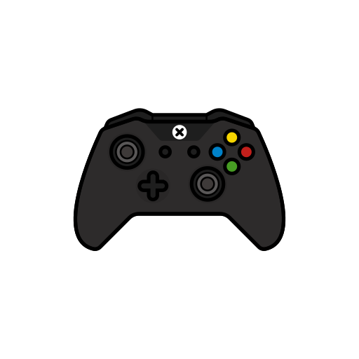 controller, gamer, new, xbox one icon