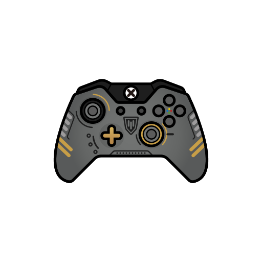 aw, cod, controller, gamer, xbox one icon