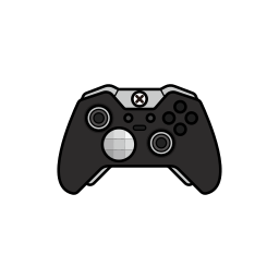 controller, elite, gamer, xbox one icon