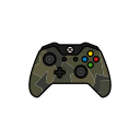 force, controller, xbox one, green, gamer