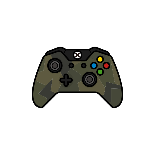 controller, force, gamer, green, xbox one icon