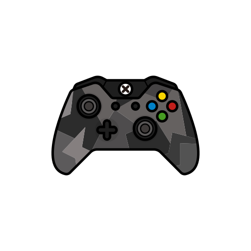 controller, force, gamer, grey, xbox one icon
