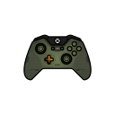 controller, xbox one, green, gamer, master chief, halo