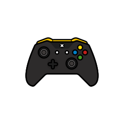controller, gamer, lambo, xbox one icon