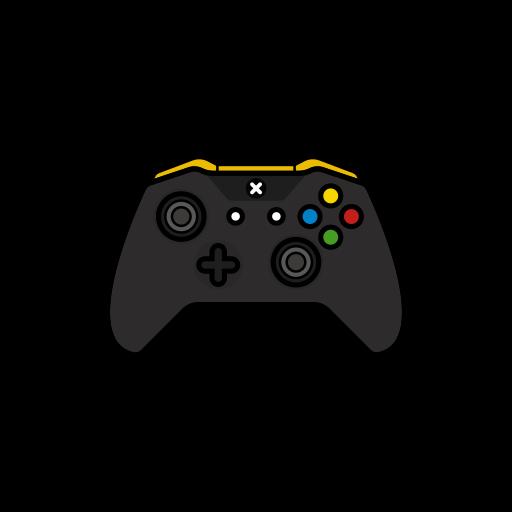 controller, gamer, lambo, xbox one icon