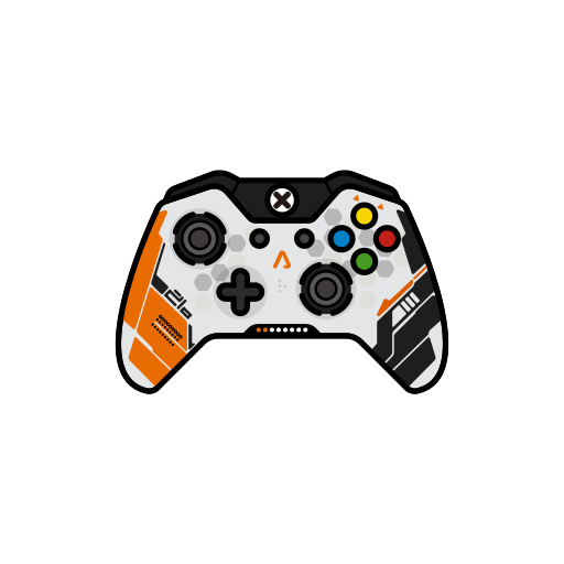 controller, gamer, titanfall, xbox one icon