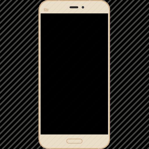 android, gold, mi, phone, smartphone, xiaomi icon