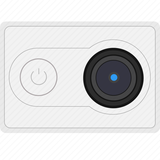 cam, camera, gopro, mi, white, xiaomi, yi icon