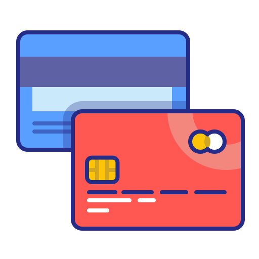 cards, credit, method, pay, payment, purchase icon