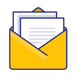 documents, email, envelope, feed, letter, newsletter, post icon
