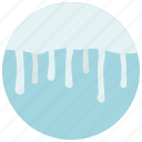forecast, ice, snow, weather icon
