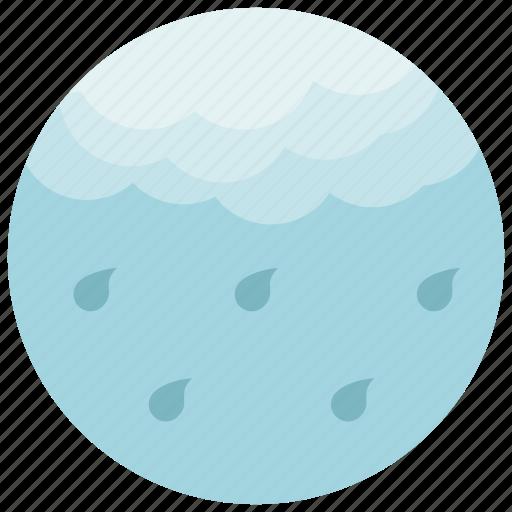 cloud, forecast, light, rain, weather icon