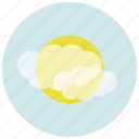 forecast, mist, weather icon