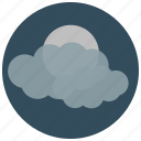 forecast, mist, night, weather icon