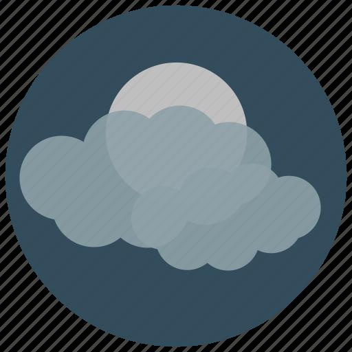 forecast, mist, night, weather icon