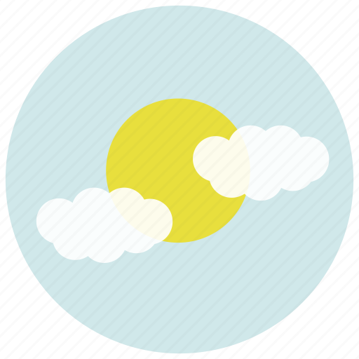 cloudy, forecast, partly, weather icon