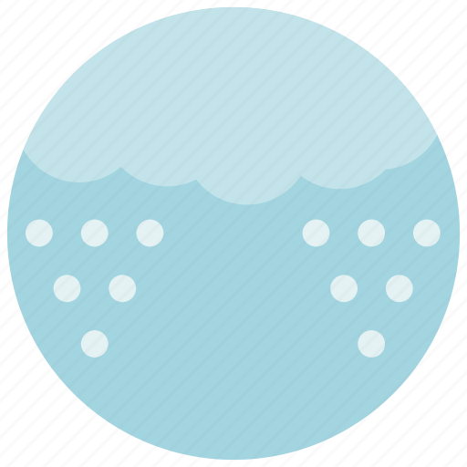 Cloud, forecast, snow, weather icon - Download on Iconfinder