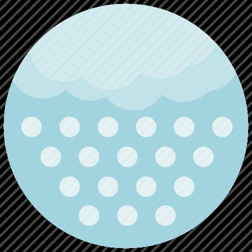 forecast, hail, snow, weather icon