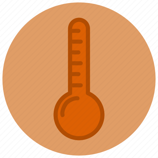 forecast, heat, hot, thermometer, weather icon