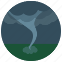 disaster, forecast, tornado, weather icon