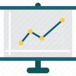 business, chart, finances, financial, graphic, presentation, statistics icon