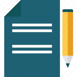 archive, document, draw, edit, interface, pencil, writing icon