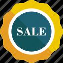 badge, commerce, design, discount, percentage, star, sticker icon